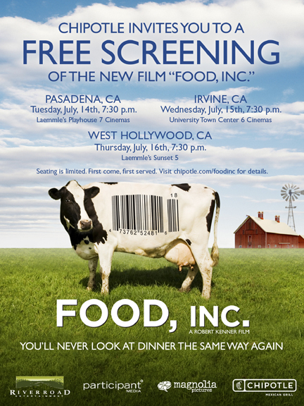 LA Food, Inc. Screenings